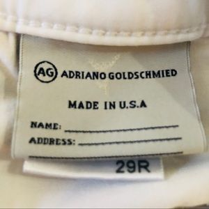 Ag Adriano Goldschmied Jeans - AG Adriano Goldschmied The Stilt Cigarette Leg 29R